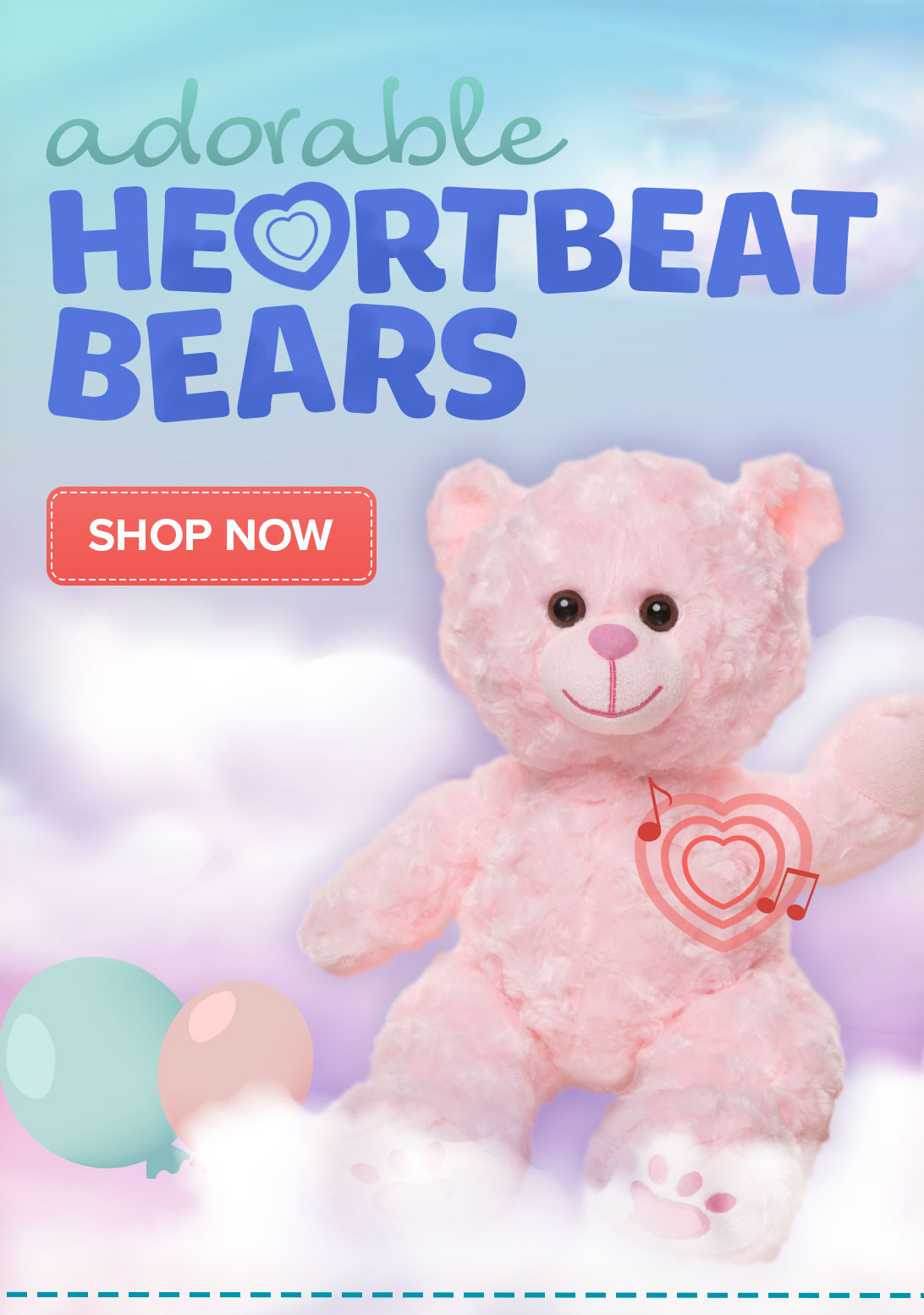 Heartbeat Bears - Shop Now
