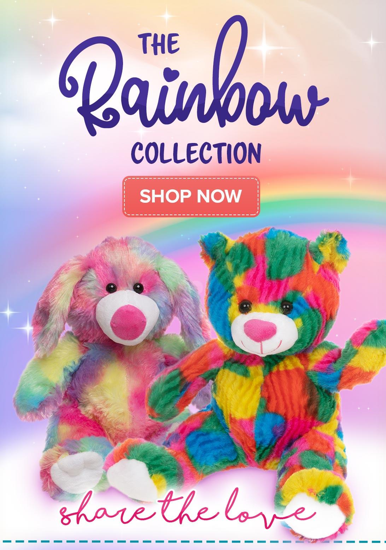 Rainbow Teddy Bears - Shop Now