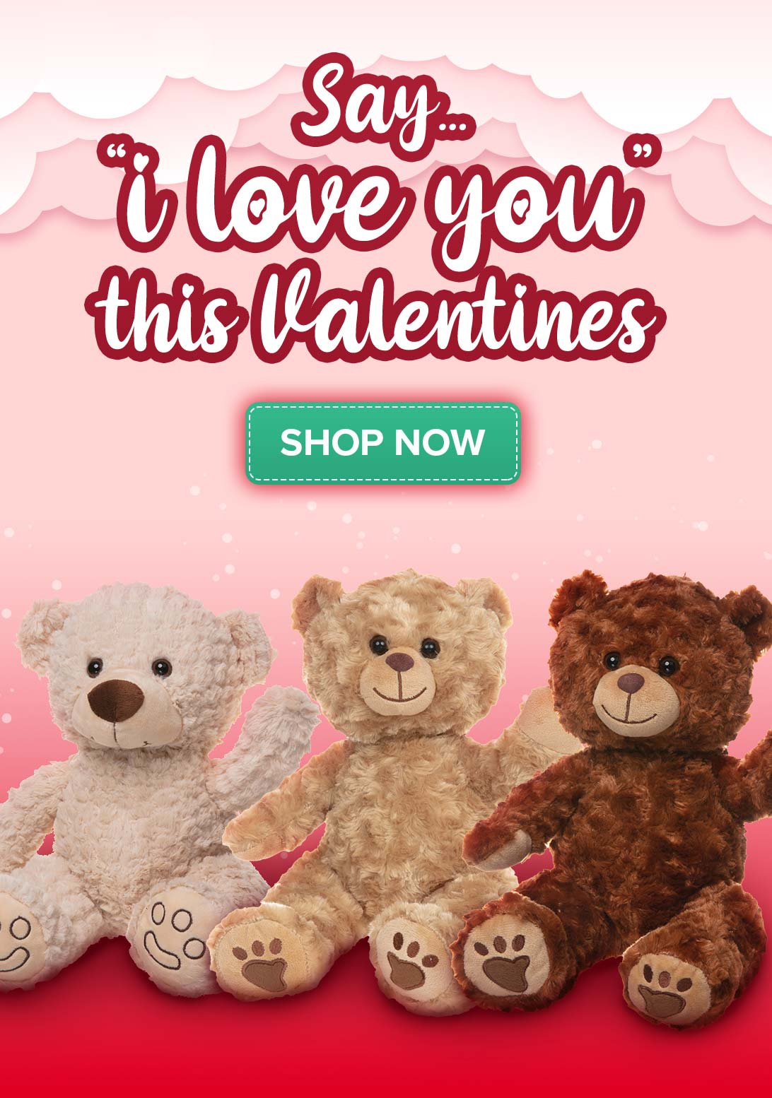 Valentines Teddy Bear Gifts - Shop Now