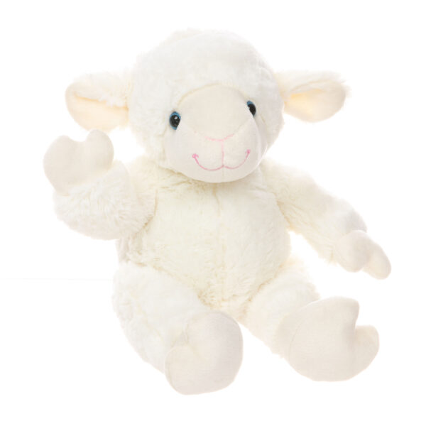 Cottonball the Lamb Teddy Bear