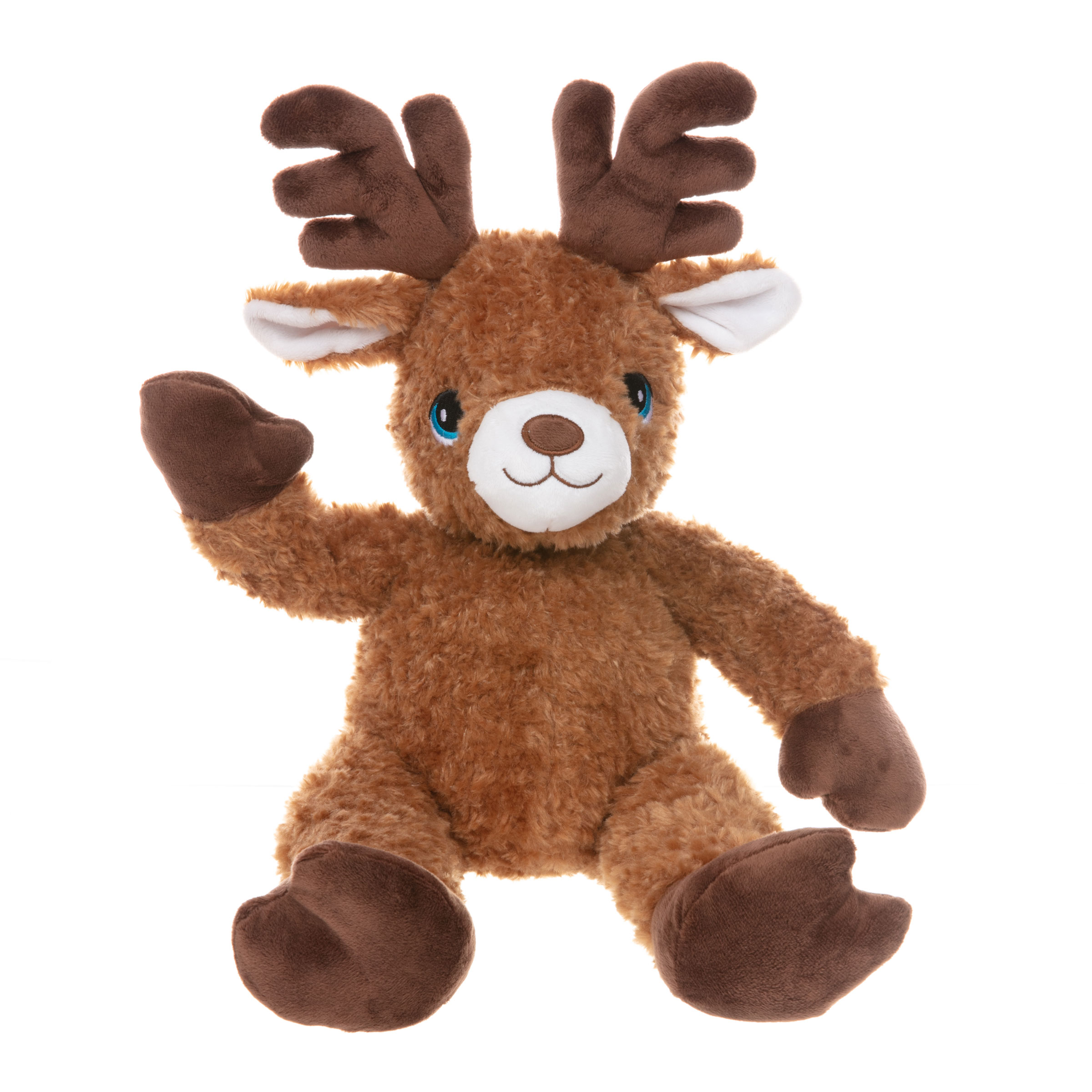 Jingles the Brown Reindeer Teddy Bear