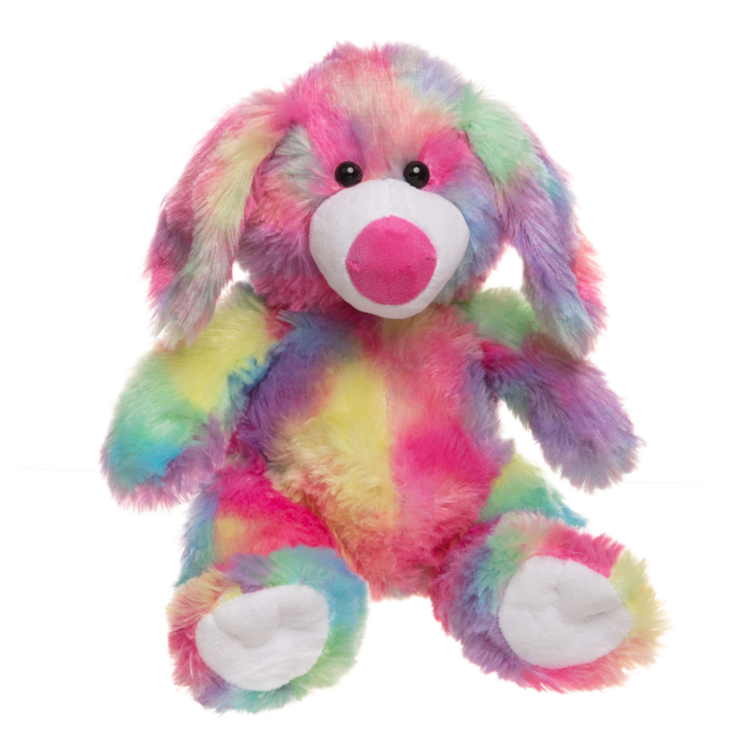 Sherbet the Rainbow Dog Teddy Bear