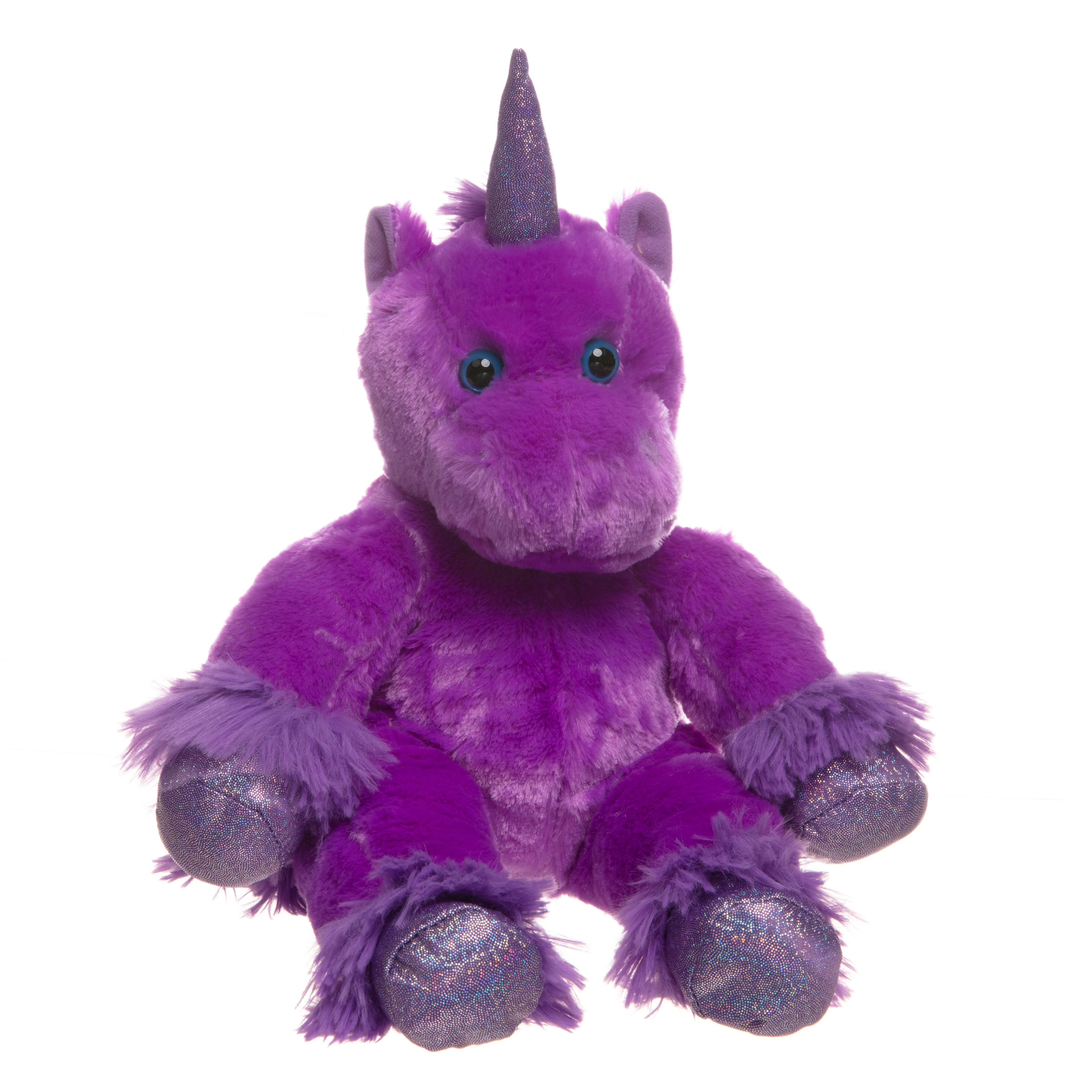 Magic the Purple Unicorn Teddy Bear