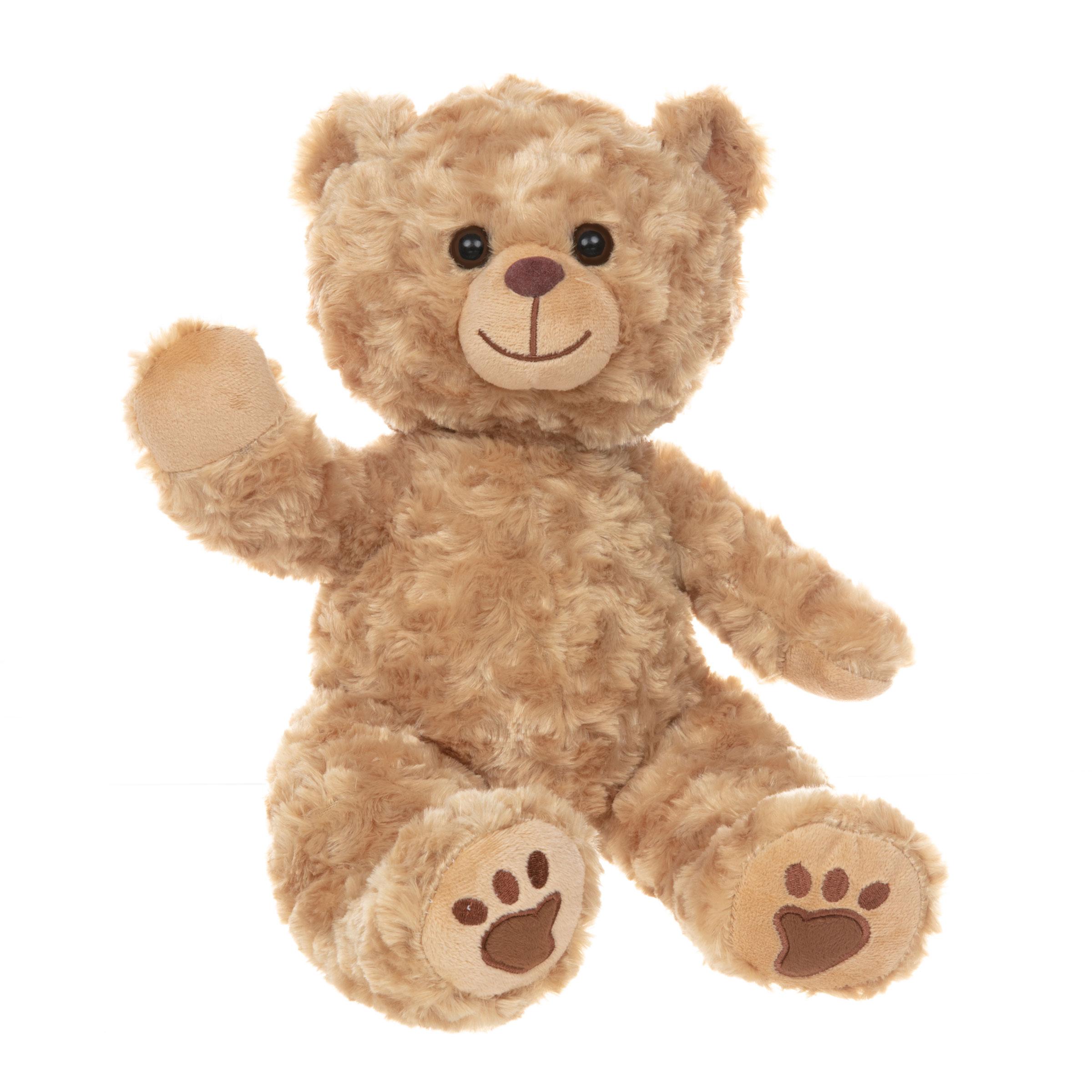 Barney the Golden Teddy Bear
