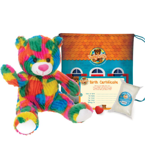 Rainbow the Bear Make a Bear