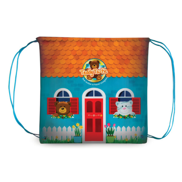 Teddy Tastic Drawstring back pack