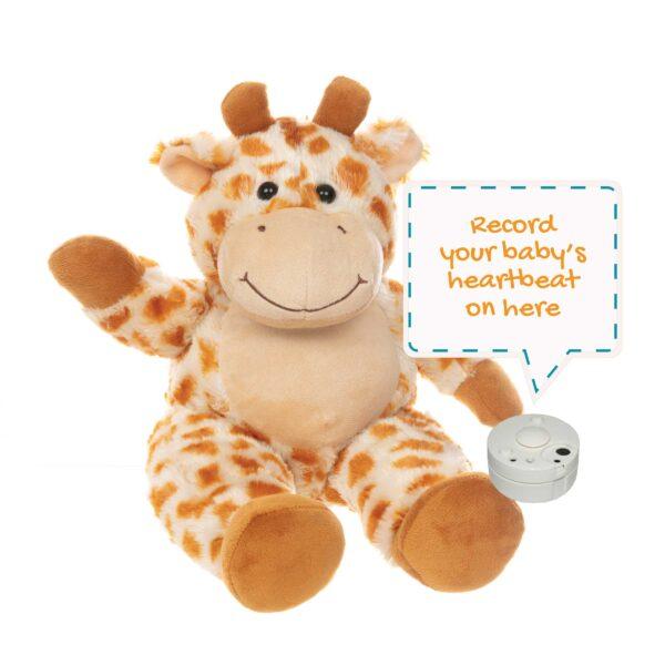 Gerry the Giraffe Heartbeats Bear