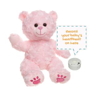 Charm the Pink Heartbeats Bear