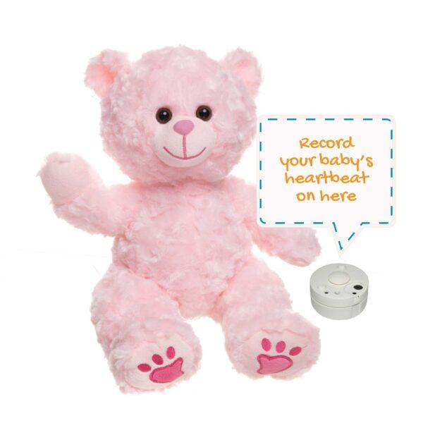 Charm the Pink Heartbeats Bear